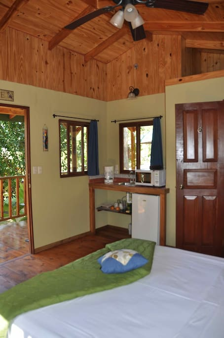 Casita Carambola small kitchen