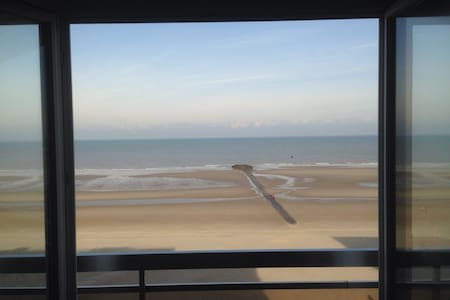 Charming apartment frontal sea view - Appartement