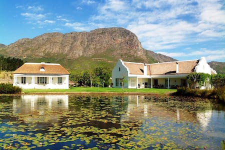 FRANSHOEK VILLA ON PRIVATE FAMILY ESTATE X 12p - Franschhoek