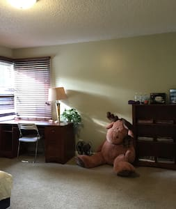 Spacious, quite and beautiful room near Microsoft - Redmond - Casa a schiera
