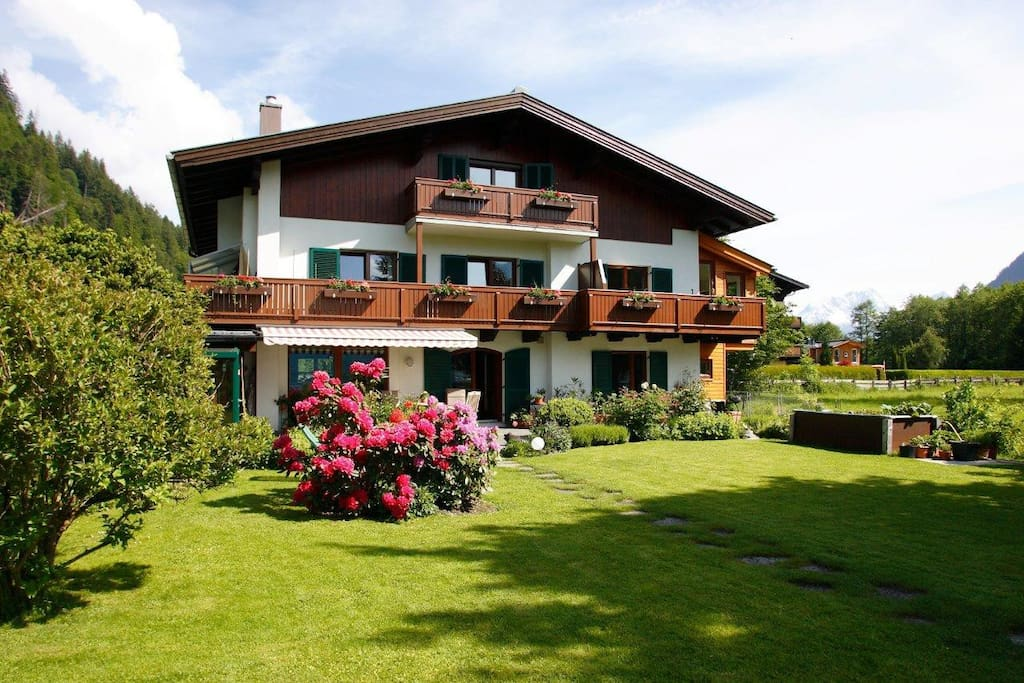 our house/ unser Haus