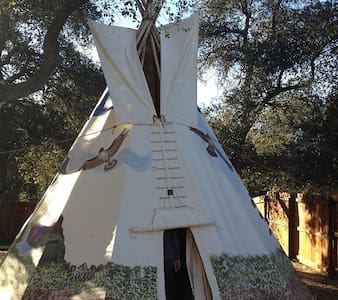 Women's Lodge at MVR - Tipi
