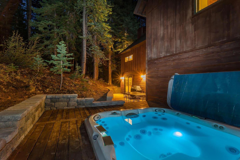 Modern Cabin w/ Creekside Setting