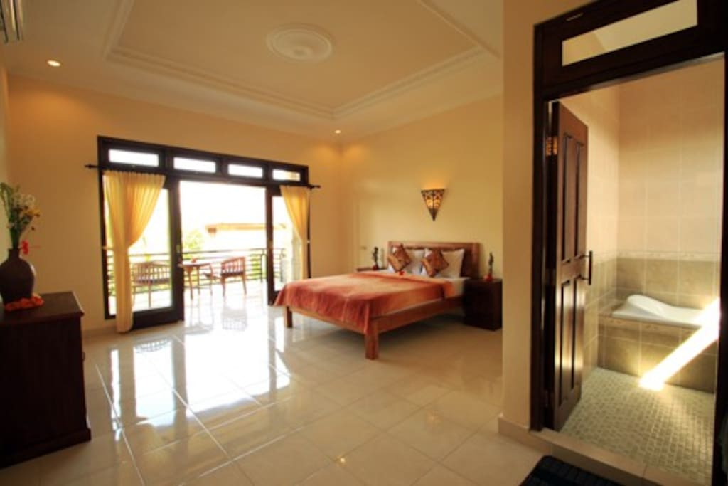 Spacious Deluxe Room with Balcony