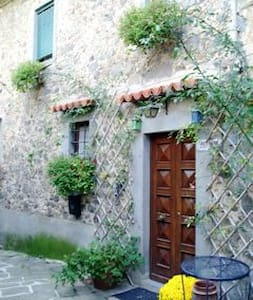 Tuscany Medieval village hill-house - House