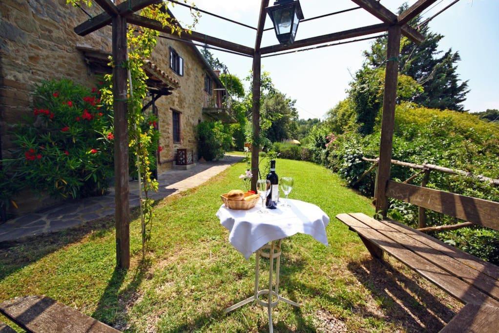 the garden/il giardino