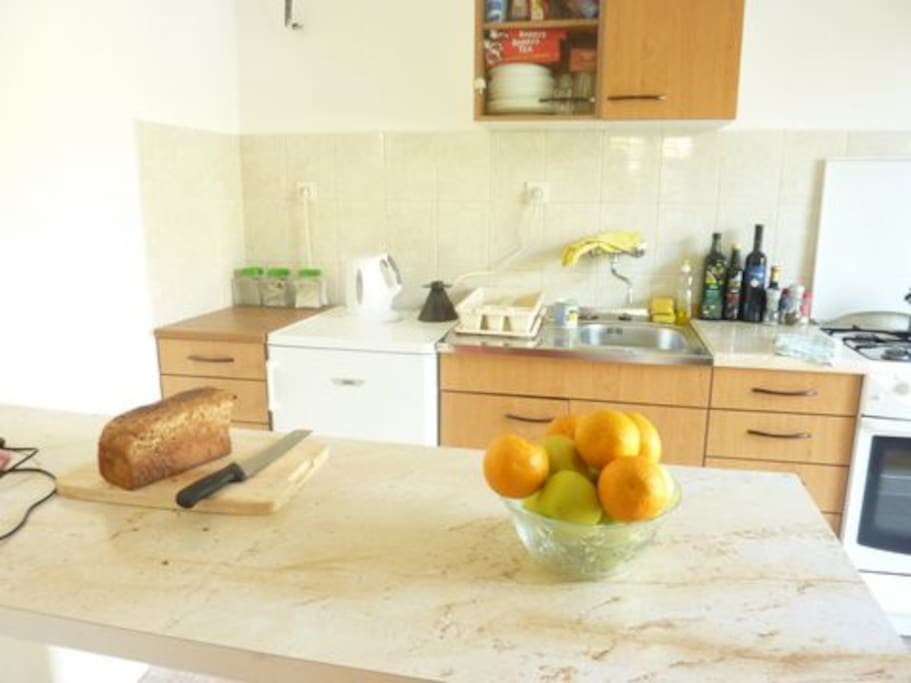 Fitted Kitchen and breakfast bar
