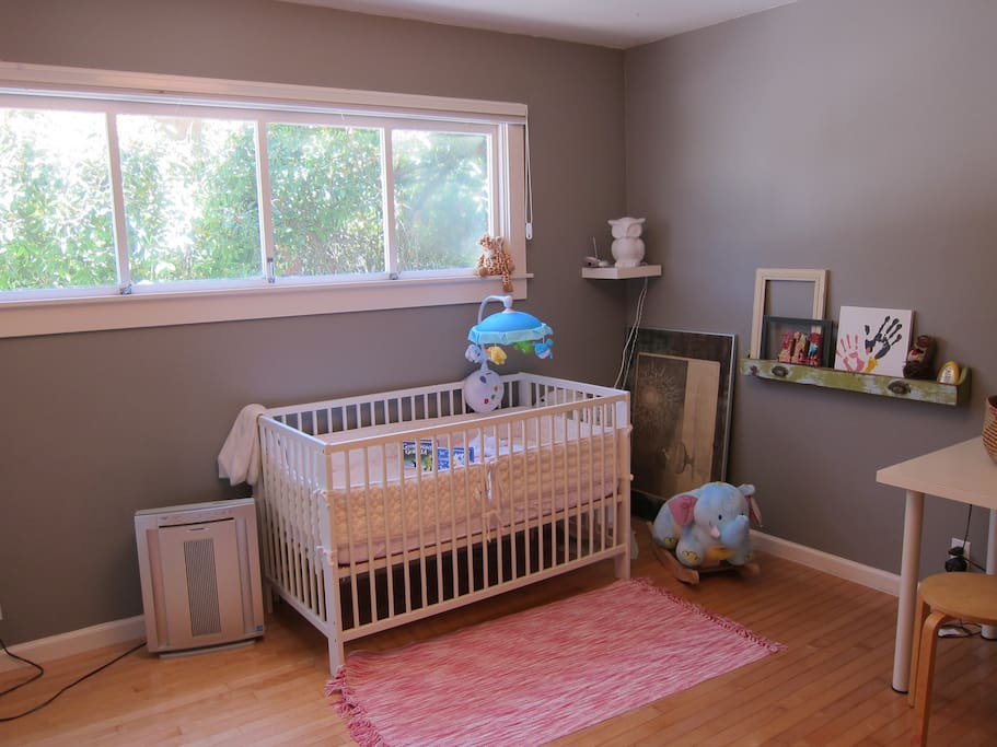 Baby room with a crib