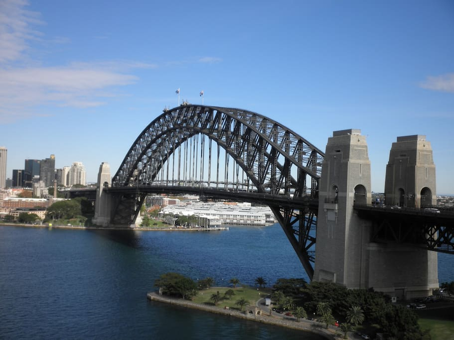 Harbour Bridge from lounge