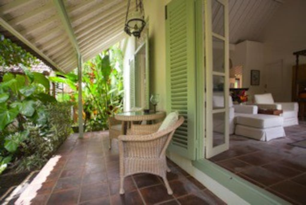 Verandah with view to the south