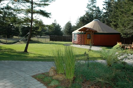 YURT / 33 Acres / Ocean 1 Mile  - Yurt