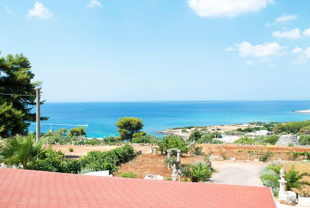 Beautiful flat in Villa 250 m sea