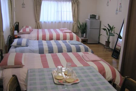 10min from JR Kofu Sta./ WiFi, Parking available - 甲府市 - Hus