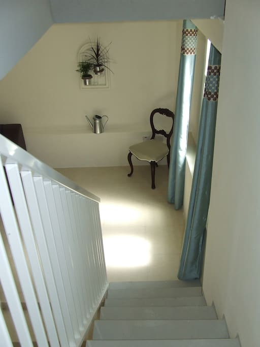 View from upstairs