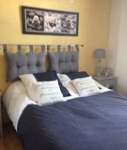 Belle chambre individuelle 2 pers - House