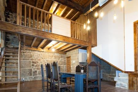 Apartamento medieval con calefaccion y desayuno - Ribadavia - Flat