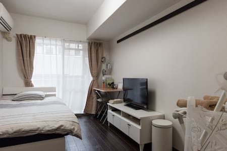 5min to SHIBUYA!Cozy dbl room w/Free Pocket Wi-Fi - Wohnung