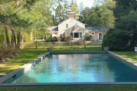 Home in the Historic Village of Amagansett - Huis