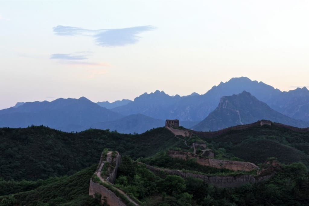 view from the Dragon Great Wall