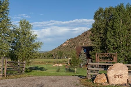 True Grit Rustic Mountain Retreat - Ridgway - Hus