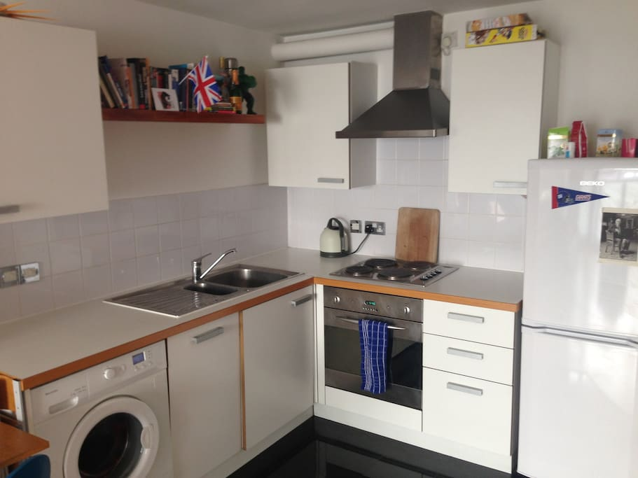 Kitchen; with dishwasher, washing machine etc