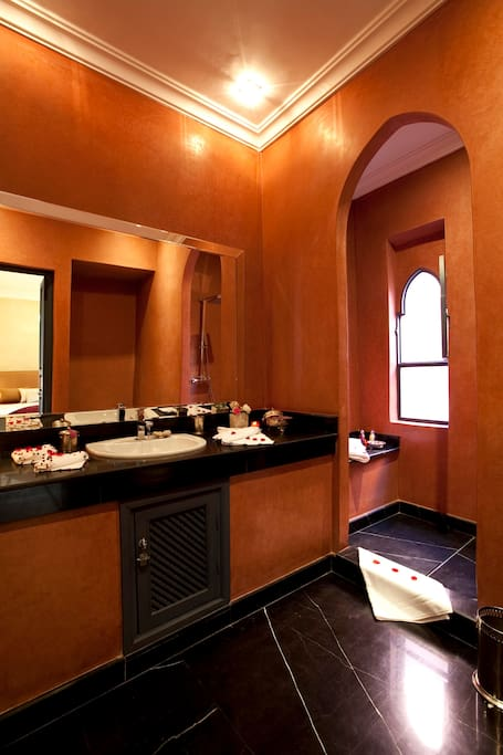 Red Suite, bathroom