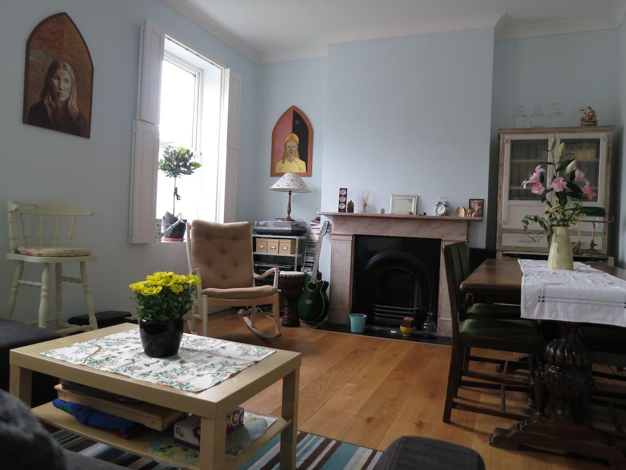 Lovely double room in garden flat