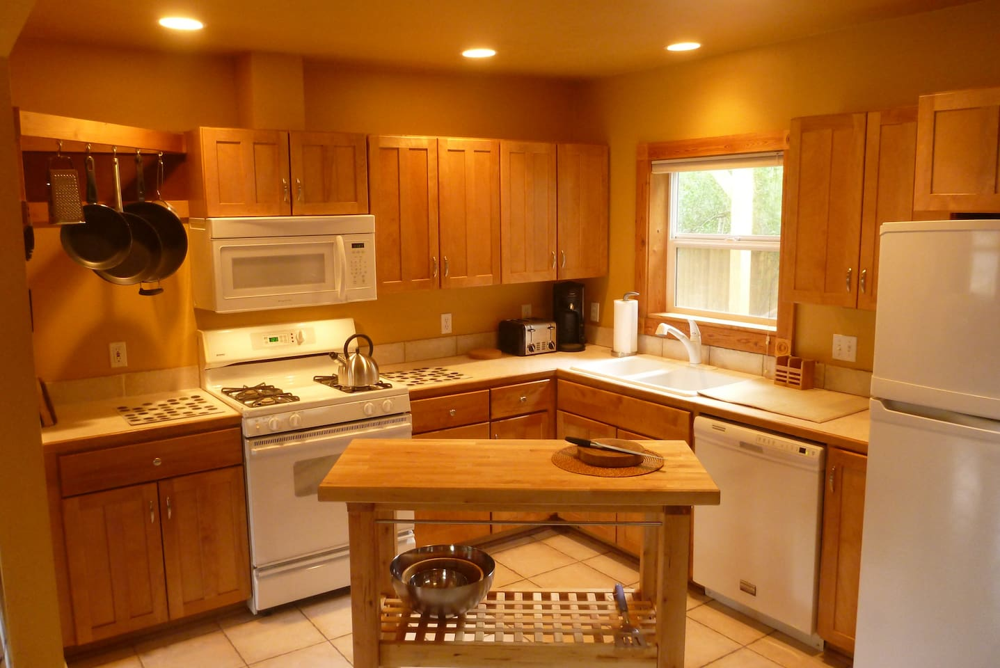 Gas cook stove and lots of kitchen tools for your cooking needs