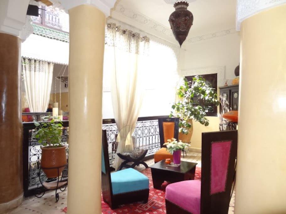 Riad Eloise Marrakech salons