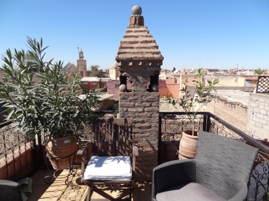 Riad Eloise Marrakech terrasse panoramique
