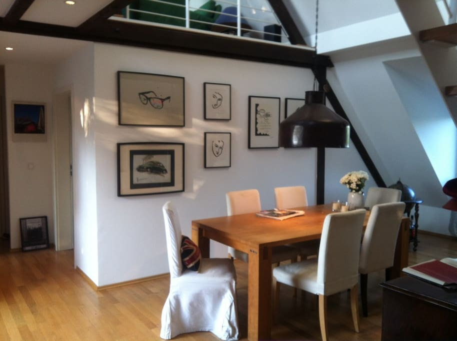 maisonette wohnung in eimsb ttel apartments zur miete in. Black Bedroom Furniture Sets. Home Design Ideas