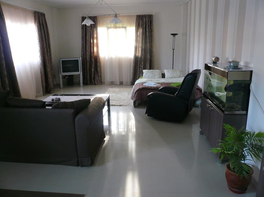 living room / sleep in for 4 people