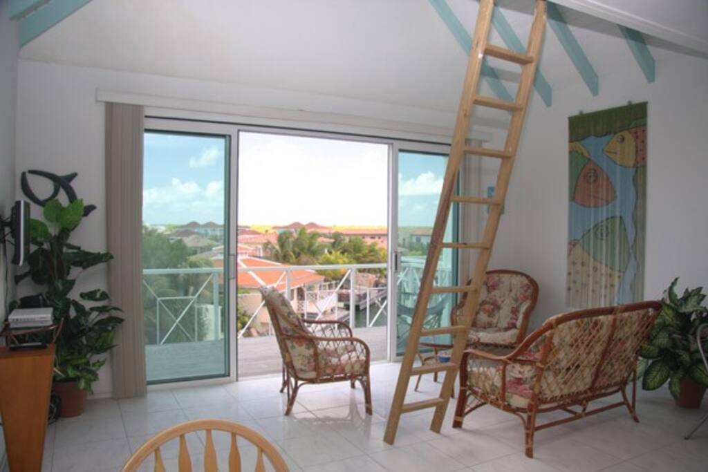 Living Room and Balcony