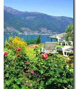 Lovely, private Lake sightseing!!!! - Tronzano Lago Maggiore - Apartment
