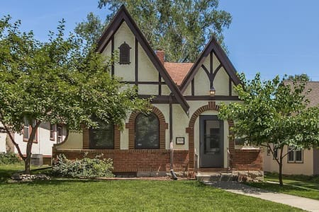 Eclectic Tudor-Style Home in Waldo