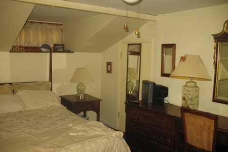 Upstairs Private keyed Bedroom