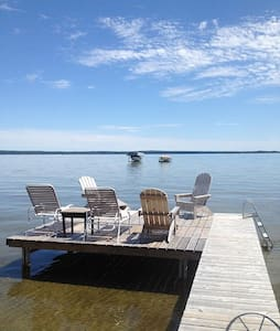 Higgins Lake Getaway!  Enjoy the lake 24/7. - Hus