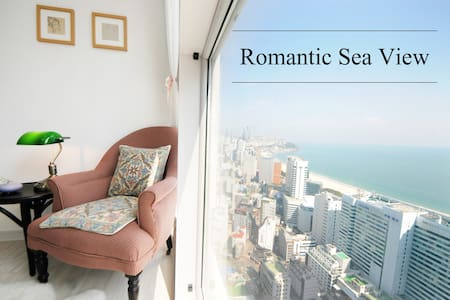 Romantic Sea View, beach 5 minute - Haeundae-gu - Apartamento