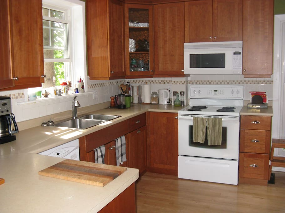 Kitchen is available, sharing with hosts