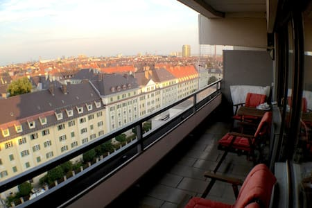 Fantastic View-overlooking Munich - Apartamento