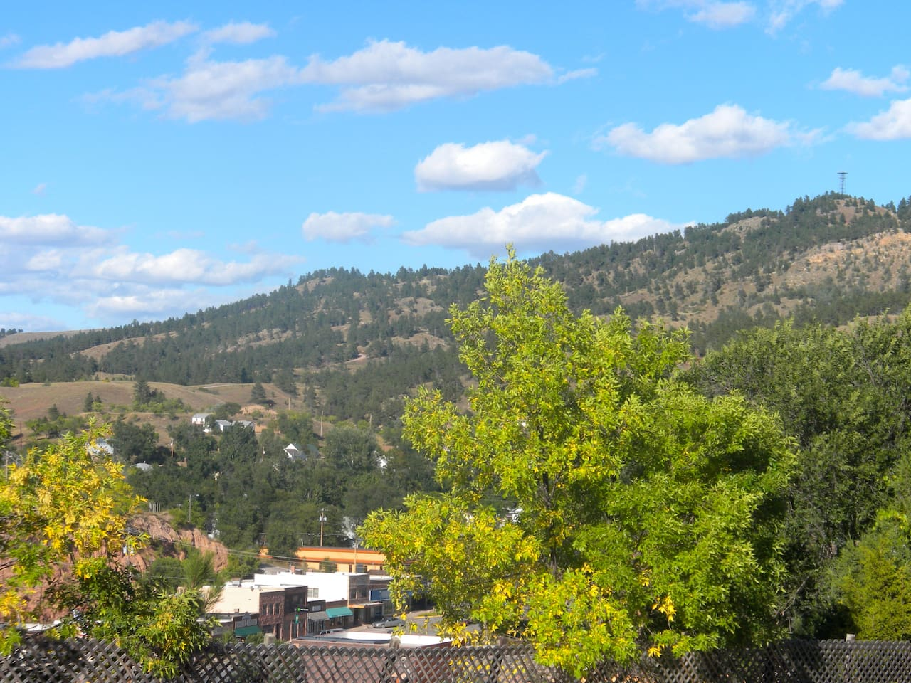 View of Battle Mountain from Carriage House