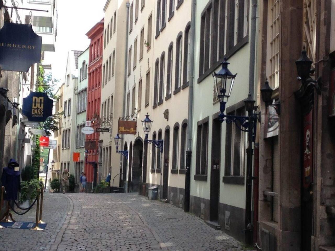 Romantik pur in der Kölner Altstadt