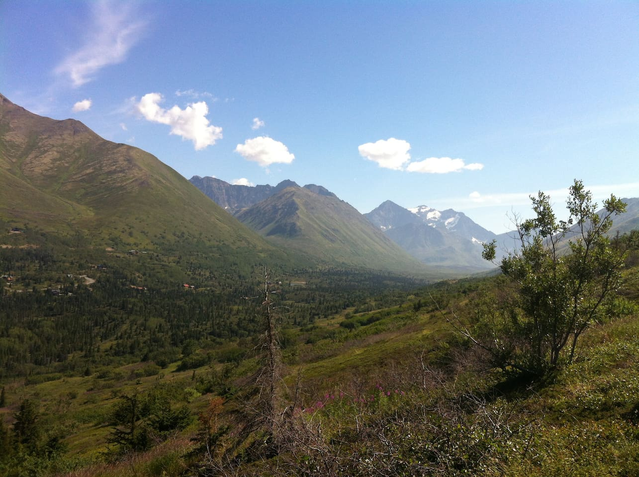 Beautiful Eagle River Valley - HIking, biking,  and cross country ski trails for all levels