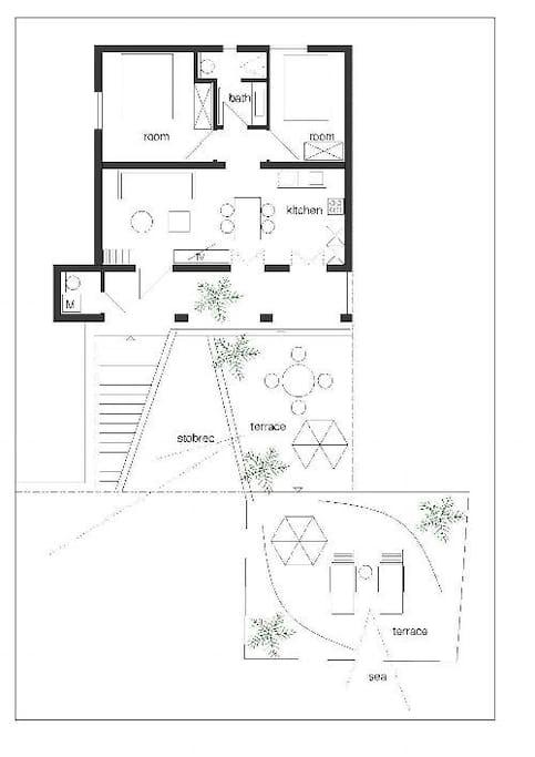 Apartment Grundriss