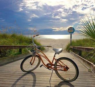 Sunny BeachHouse New-w/bikes (E12) - St. Pete Beach - Casa