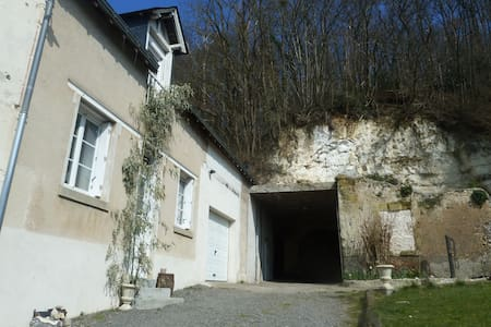 Pleasant outhouse B&B, bathroom/WC - Vernou-sur-Brenne
