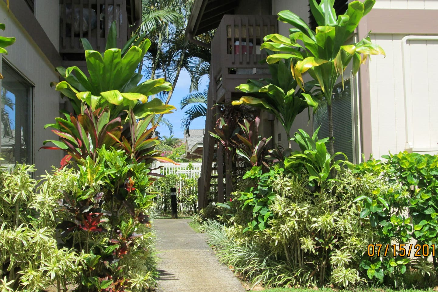 The path that leads to your vacation home...