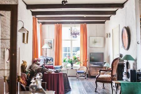 Karakteristiek huis in oude dorp  - Loenen aan de Vecht