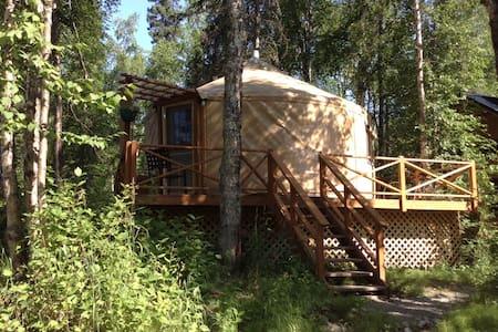 talkeetna east side cabins LLC yurt - Jurta