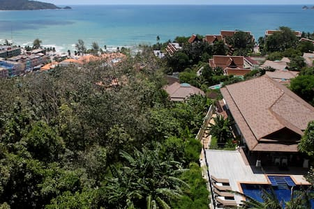 Patong Bay View Luxury Pool Villa - Patong - Villa